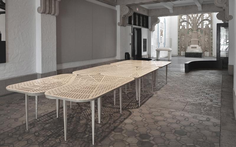 Nick Gelpi, Bamboo Table