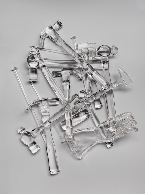 Esther Shalev-Gerz, Glass Hammers