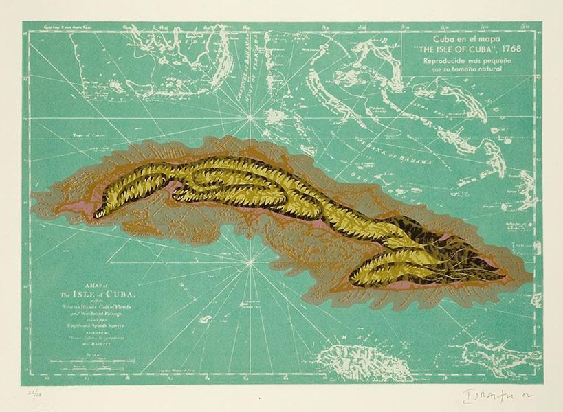 Ibrahim Miranda, Cuba w/ Green and Gold (Atxolotl)