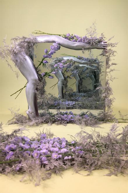 Sarah Meyohas, Purple Figure