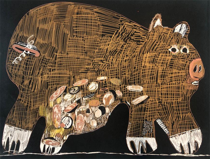 Summer Wheat, Piggy Bank