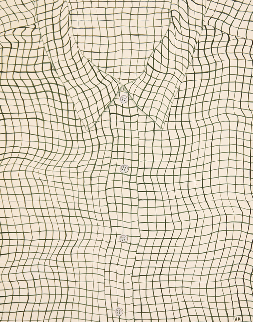 Hannah Knox, White Grid